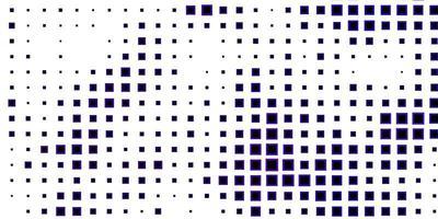 donkerpaarse achtergrond met vierkanten vector