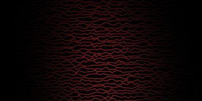 donkerrode sjabloon met lijnen. vector