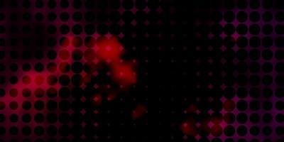 donkerrode textuur met cirkels.