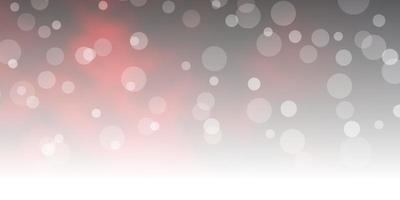 rode sjabloon met cirkels. vector