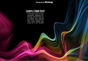Vector kleurrijke abstracte golven