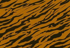 Tiger Stripe Achtergrond van het Patroon vector