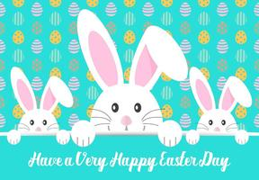 Leuke Happy Easter Illustration