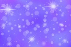 magische sprookje pastel hemelachtergrond vector