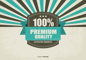 Retro Promotie Premium Quality Achtergrond