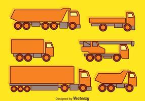 Trucks Collection Vector
