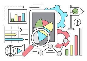 Linear Business Statistics Vector Elements