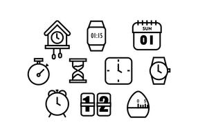 Free Time Icon Vectoer