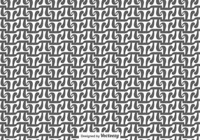 Grijs en Wit Vector Pi Symbol Naadloze Patroon