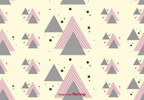 Streep driehoeken Pattern vector