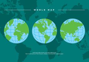 Globe Vector Achtergrond