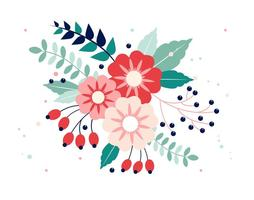 Gratis Vector Spring Flower Design