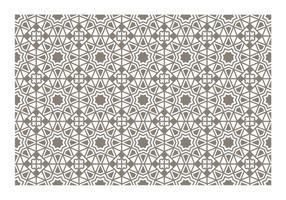 Naadloze Islamitische patroon Vector