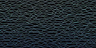 blauwe sjabloon met wrange lijnen.