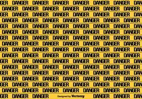 Vector Gele Gevaar Tape Naadloze Achtergrond