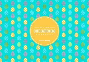 Cute Easter Egg Achtergrond van het Patroon