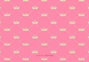 Vector Princess Crown Pattern