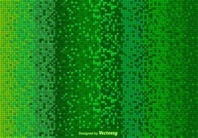 Vector groene betegelde achtergrond