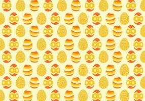 Gele Easter Egg Achtergrond van het Patroon