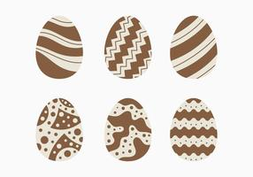 Decoratieve Chocolate Easter Egg Collection