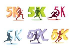 5k run vector