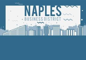 Napels Cityscape vector