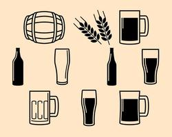 Free Beer Icon Vector