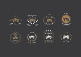 RC Crawler Competiton Logo Gratis Vector