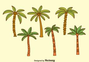 Palm Tree Collection Vectoren