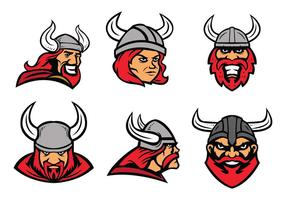 Gratis Viking Mascotte vector