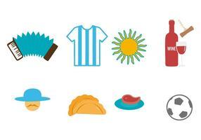 Gratis Argentinië Icons Vector
