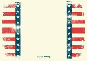Grunge Amerikaanse Patriottische Achtergrond