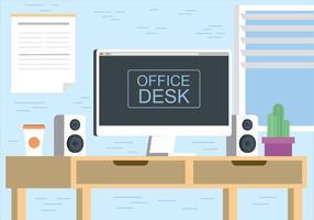 Gratis Vector Desktop Illustratie