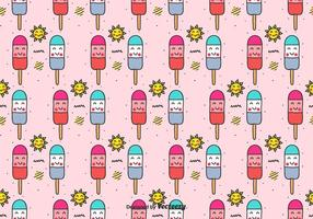 Popsicles Vector Patroon