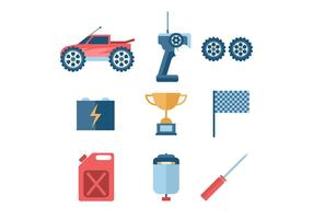 Remote Control Car Vector Icon