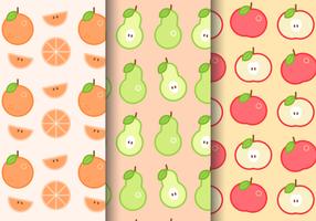 Gratis Zomer Fruitpatroon vector