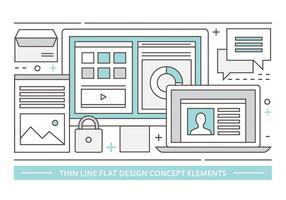 Gratis Linear Vector Ontwerp Illustratie