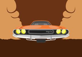 Dodge Car Illustration vector