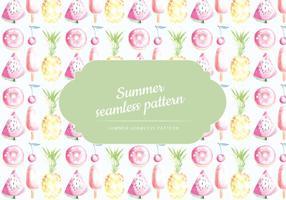 Vector Summer Pattern