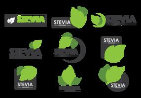 Stevia Labels Vector