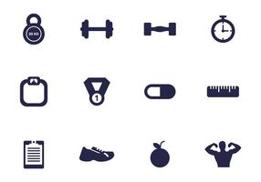 Gym Icon Vector Pack
