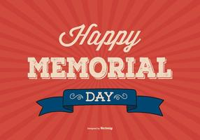 Memorial Day Background Illustratie