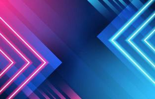 kleurrijke neonlicht achtergrond vector