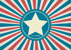 Grunge Retro Style Patriottische Achtergrond vector