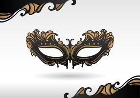 Maskerade Zwarte Masker Gratis Vector