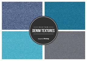 Denim Vector Textuur Collectie