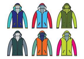 Windbreaker jas vector