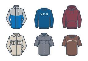 Outdoor wear vector