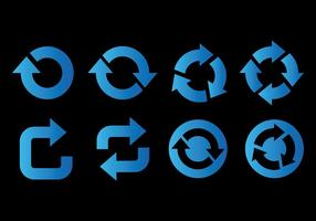 Update Icon Vector Pictogrammen