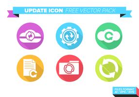 Update Icon Gratis Vector Pack